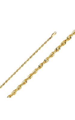 14KY 4 mm Rope Chain – 8″ product image