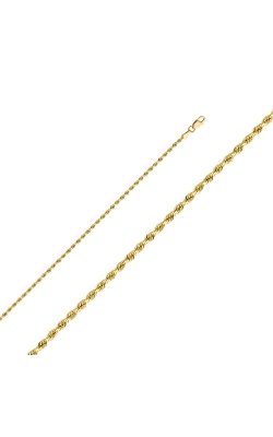 14KY 2mm Solid Rope DC Chain – 16″ product image