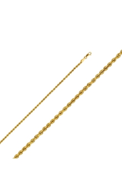 14KY 2.5mm Hollow Rope Chain – 16″ product image