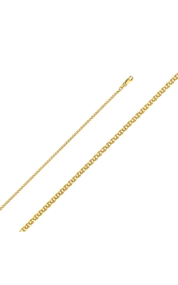 14KY 2mm Flat Open Wheat Chain – 16″ product image