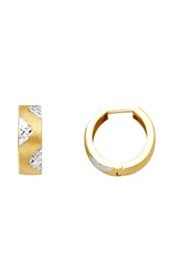14K 2T 5mm Huggies Earrings product image